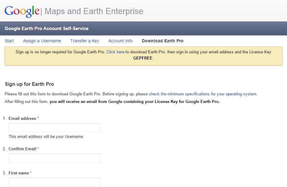 google-earth-pro-account-self-service